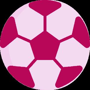 soccerBall pink